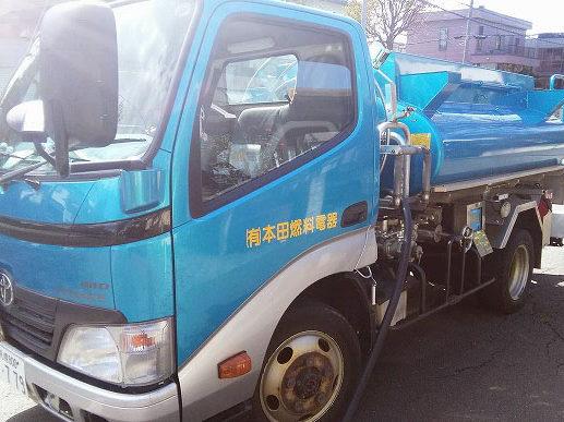 タンクローリー|札幌の灯油配達なら本田燃料電器