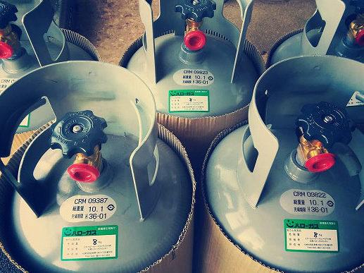 ガスボンベ|札幌の灯油配達なら本田燃料電器